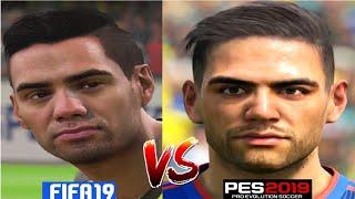 PES 2019 VS FIFA 19 CARAS/FACES COLOMBIA