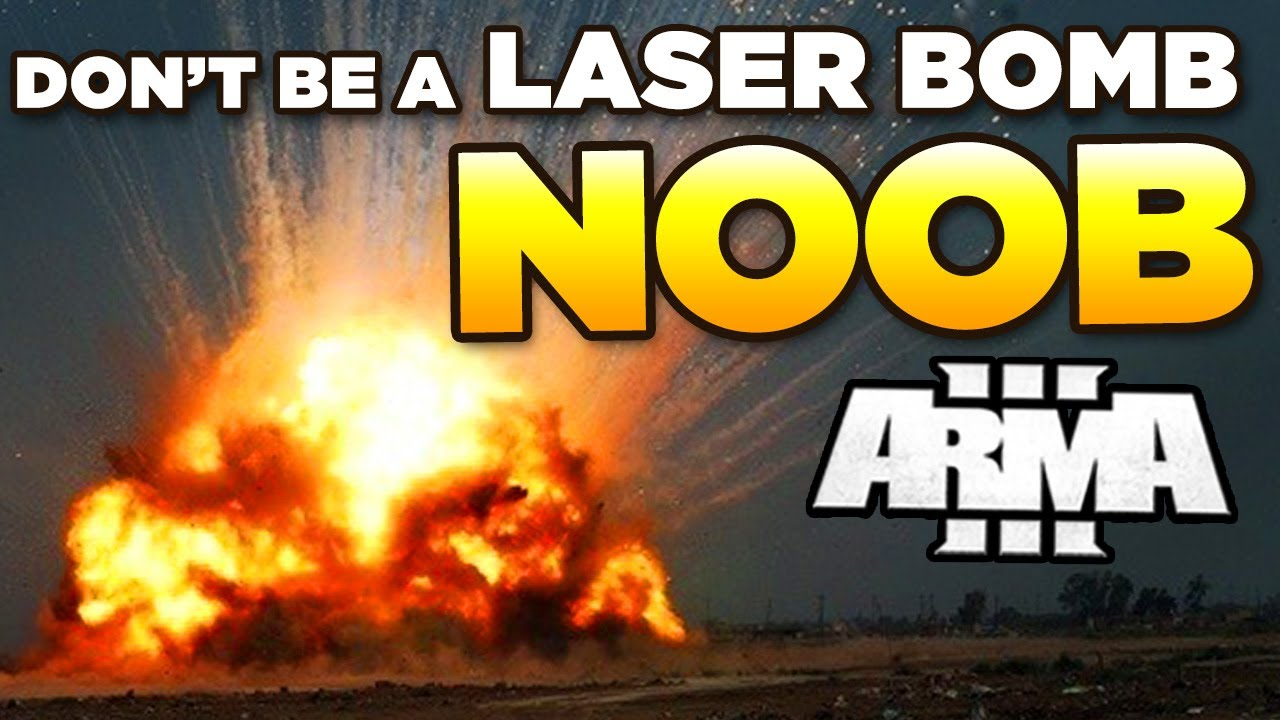 Don't be a LASER BOMB/AIR RECON Noob in ARMA 3 | Tutorial/Guide