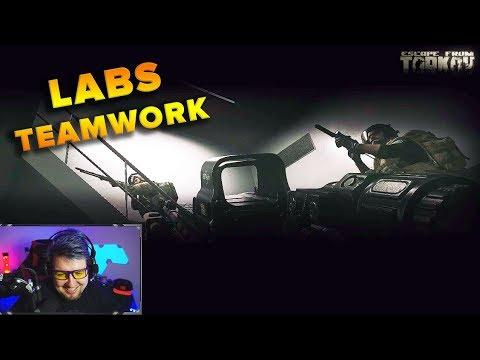 LABS TEAMWORK | SQUAD GAMEPLAY | Escape from Tarkov | TweaK
