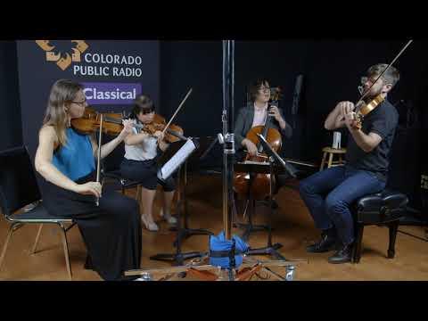 Attacca Quartet plays Robert Schumann at CPR Classical