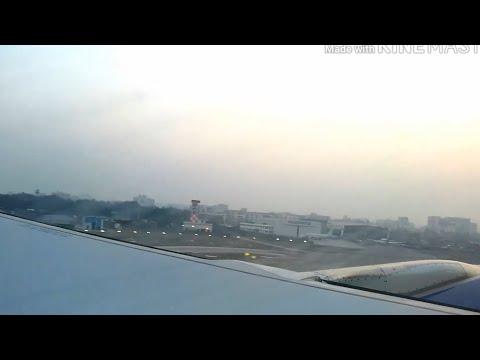 Mumbai to Bahrain , flight takeoff