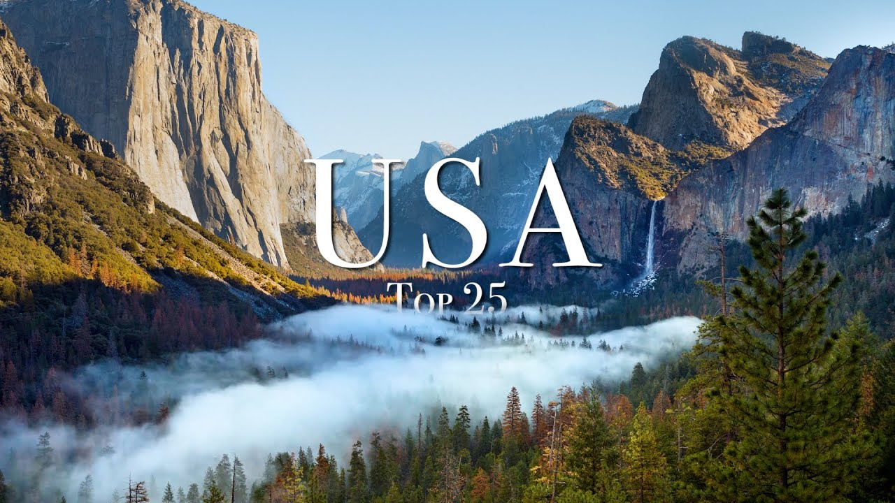 Top 25 Places To Visit In The USA