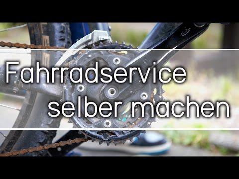 Fahrrad Service selber machen