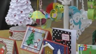 Мастер-класс по изготовлению новогоднего сувенира в Центральной городской библиотеке