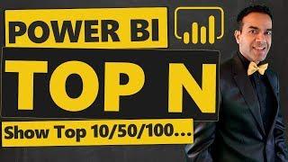 Wie Erstellen Sie Power BI-TOP-N-Bericht (Variable N, Zeigen Top 10/50/100...)