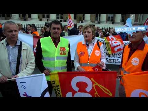 Première manifestation à la Bourse de Paris depuis 20 ans