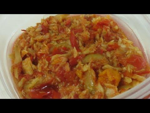 Saltfish And Tomatoes Recipe|Trini Food|Caribbean