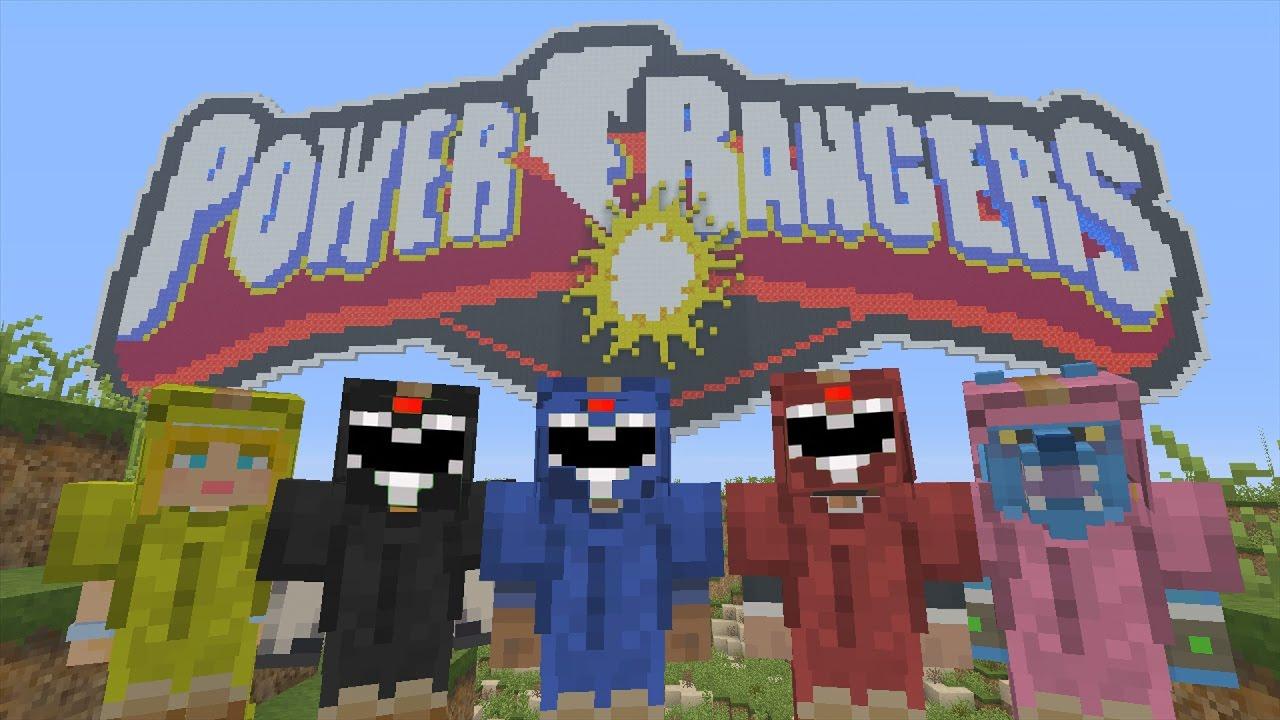 Minecraft Xbox - Murder Mystery - Power Rangers (2017 Movie)