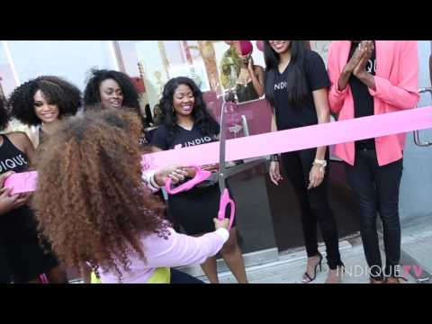 Indique Hair Celebrates It's LA Boutique Grand Opening