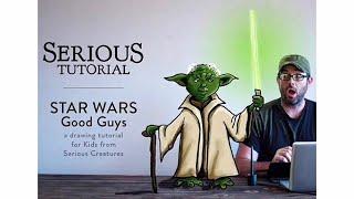 "Star Wars ""Good Guys"" Drawing Tutorial for Kids"