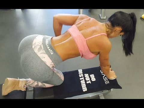 MICHELLE LEWIN Workout: 4 Basic Back Exercises