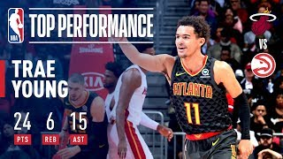 Rookie Trae Young is DOMINANT In Victory Over Miami Heat | November 3, 2018