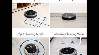 ECOVACS DEEBOT M81Pro Robotic Vacuum Cleaner with Strong Suction, for Pet Hair, Low-pile Carpet
