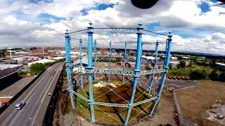 FPV Carlisle, Victorian Gas Tower, Harraby NCTC & Suttle House.