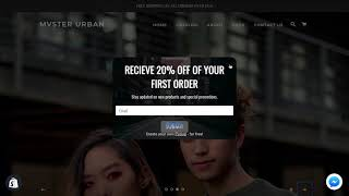 Shopify Store Design For MVSTER Urban Clothing