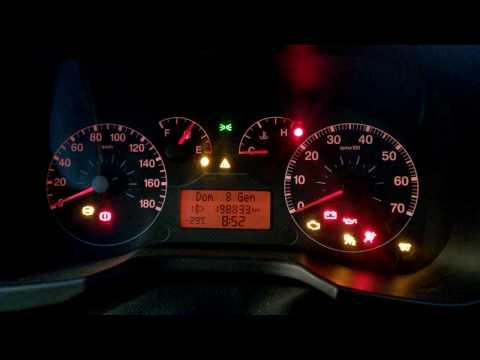 Diesel engine cold start Fiat 1.3 multijet -30°C Celsius! Filmed in Russia