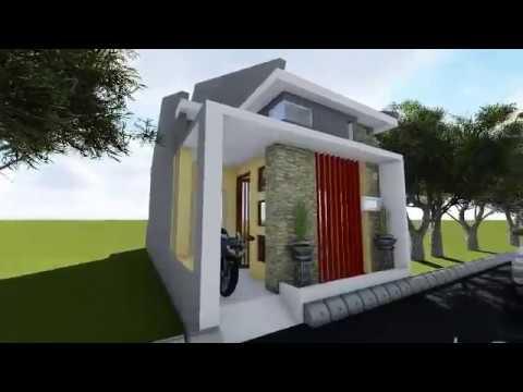 Desain Rumah Minimalis Lebar 5 Meter  rumah ukuran 5 meter x 12 meter lahan sempit
