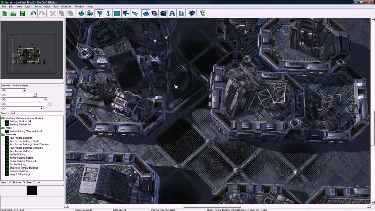 How to Create an in-game cinematic with the StarCraft 2