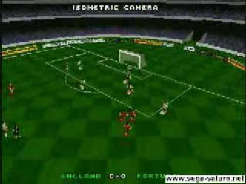 Euro 96 England Gameplay