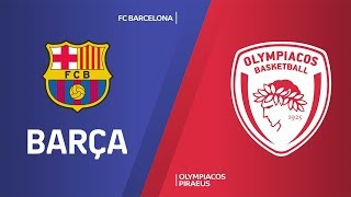 Fc barcelona stayed strong in the turkish airlines euroleague regular season by downing olympiacos piraeus 90-80 at palau blaugrana on friday. impr...