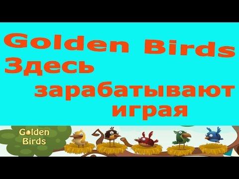 Обзор Golden Birds заработать 2016. Вывод денег. игры с выводом денег
