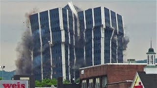 The Martin Tower Implosion - An Icon of Bethlehem PA
