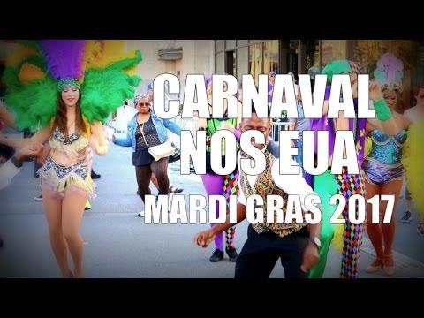 Como é o Carnaval nos Estados Unidos - Mardi Gras Universal Studios