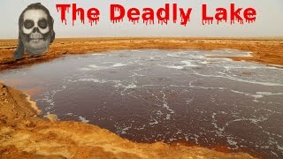 The toxic lake waters of the Danakil