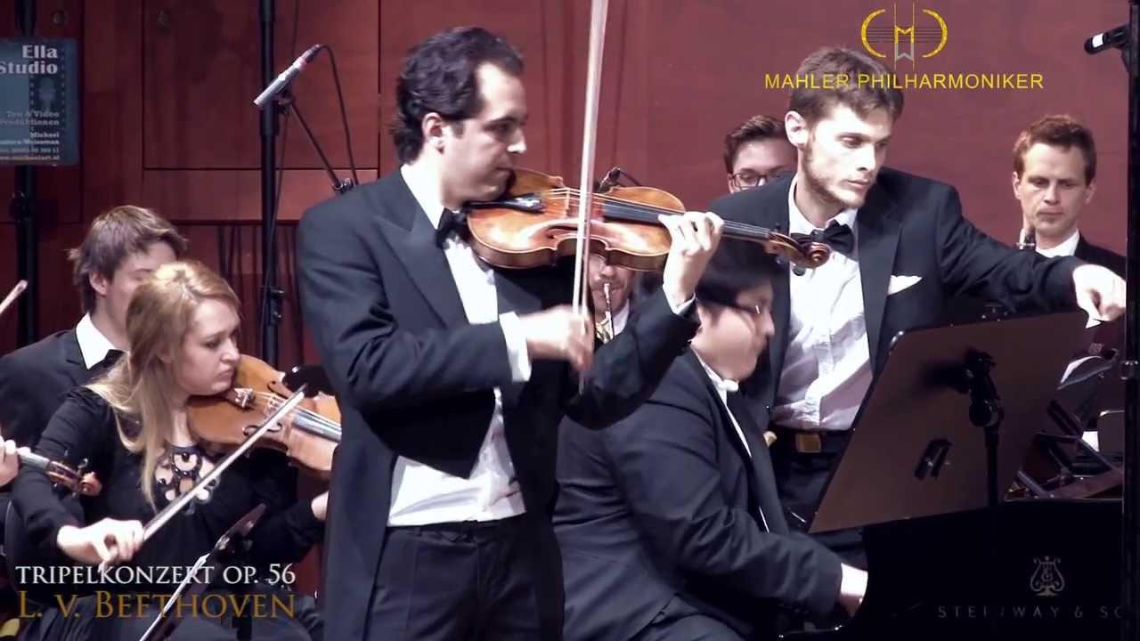 Beethoven: Triple Concerto, Op. 56 / Floril - Reina - Mahler Philharmoniker | Wiener Konzerthaus