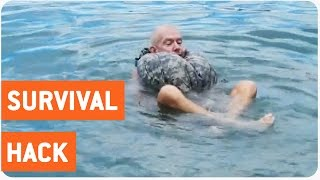Life Jacket Made of Pants | Survival Tips