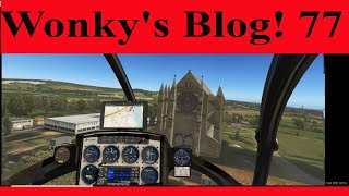 Xplane, Back in The Cicare 8 after man flu! Wonky's blog 77