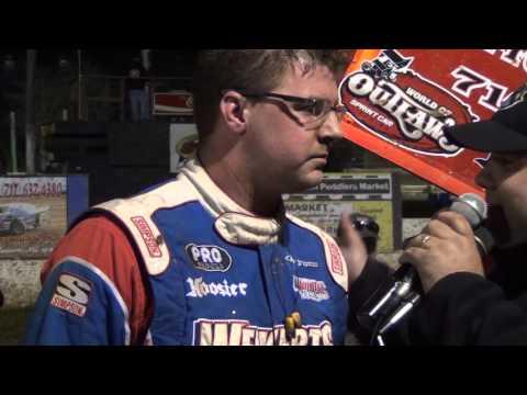 Susquehanna Speedway Park 410 Sprint Car Victory Lane 11-14-15