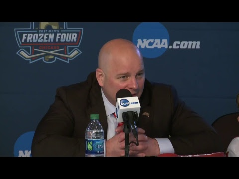 News Conference: Frozen Four Championship Press Conference