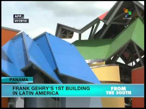 Panama innaugurates Latin America's 1st Frank Gehry designed building