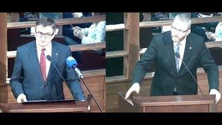 Dawka szczerości - Grzegorz Braun (Konfederacja) vs Marek Kuchciński (PiS)