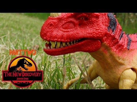 The New Discovery: Jurassic Park (Toy Movie REMAKE) Part 2/6