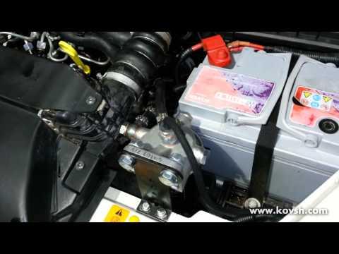 100 защита топливной аппаратуры на Ford Transit Connect 1.8 TDCi