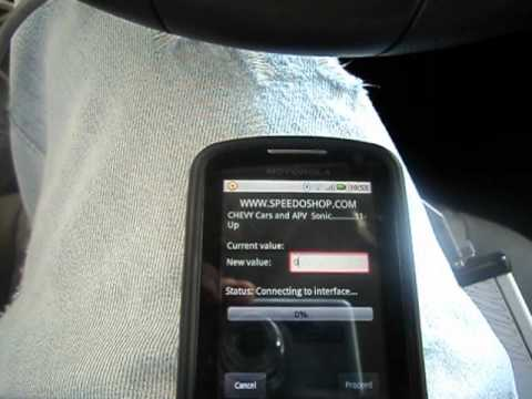 Android obd2 odometer correction tool Jprog Jpad Sonic 2012