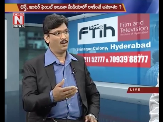 Best Media School in Hyderabad || FTIH Film School