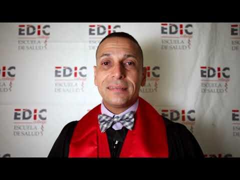 Testimonial Edwin Galarza en Graduacio?n EDIC College 2019
