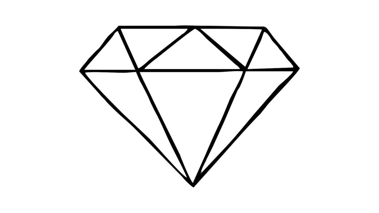 простые картинка бриллиант для сквиши подвергаясь любой