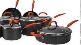 Rachael Ray 14-Piece Hard Anodized Nonstick Cookware Set  | 89165 RRAY