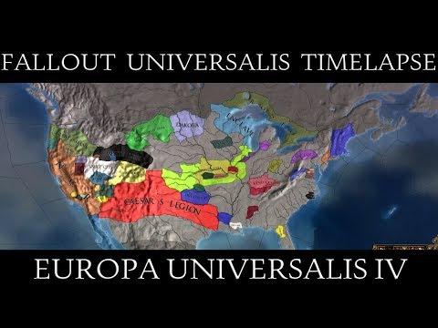 EU4 Fallout Universalis Alpha Timelapse