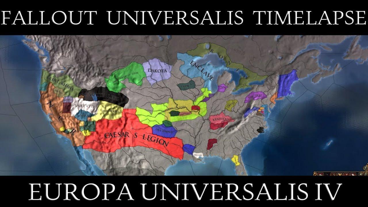 Eu4 Fallout Universalis Alpha Timelapse Youtube