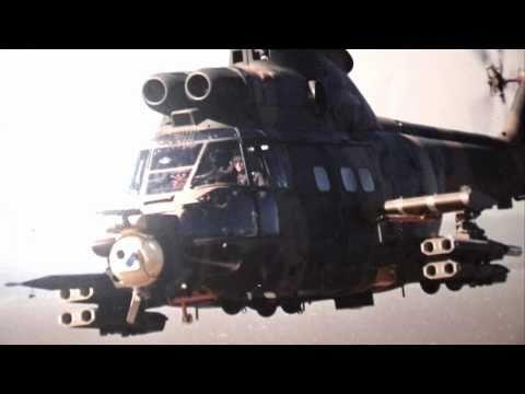 SAAF Puma Heavy Assault Chopper Angola Border War?