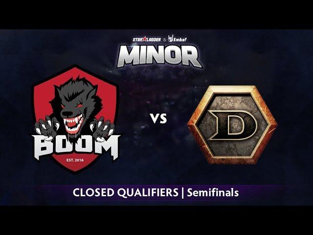 BOOM ID vs DeToNator Game 1 - StarLadder ImbaTV SEA Qualifier: Semifinals