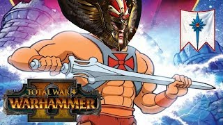 High Elves vs Lizarrdmen | TYRION TIME - Total War Warhammer 2