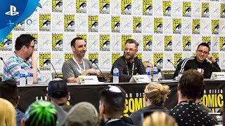 God of War – Comic-Con 2018 Full Panel | From Panel to PlayStation (Digital Exclusive)