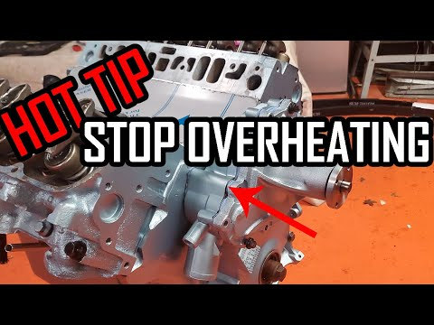 How to Install a Pontiac Timing Cover and Water Pump on a Pontiac 400