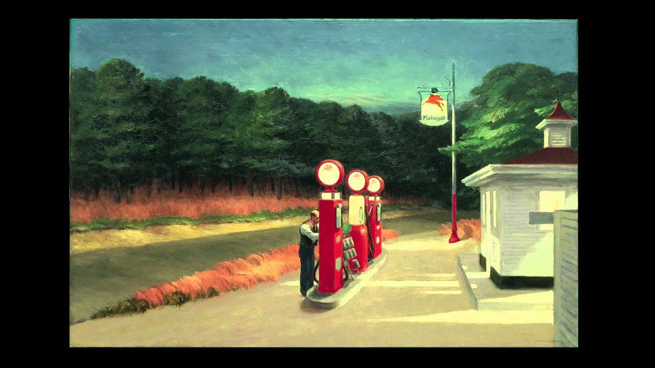 Edward Hopper Peintre De La Solitude Et De La Lumiere Youtube